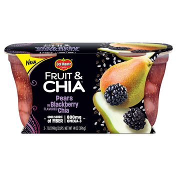 Delmonte Blackberry Chia Pears - 14oz