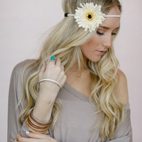 Bright Daisy Flower Crown