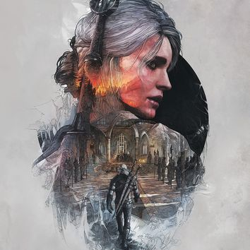 The Witcher 3 Wild Hunt Hot Game Art Silk Poster Picture for Home Wall Decor