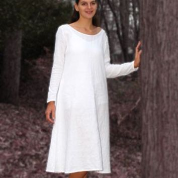 Early Medieval Linen Chemise