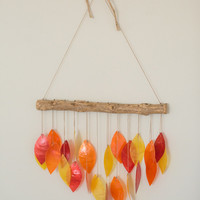Capiz Shell Wind Chime Mobile