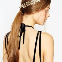 ASOS Occasion Leaf Back Hair Grip