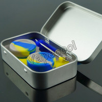 Tin container kits!!Silicone oil container