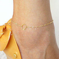 Cute New Arrival Sexy Gift Stylish Ladies Jewelry Shiny Accessory Simple Anklet [8080499911]
