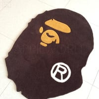 fashion A Bathing Ape door mat floor mat doormat bape carpet rug monkey home decoration