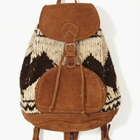 Flores Backpack - Wool