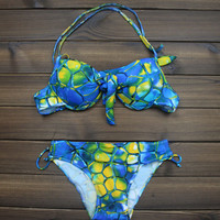 Womens Push up Swimwear Swimsuits Two Pieces