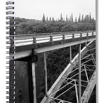 Hurricane Bridge - Spiral Notebook