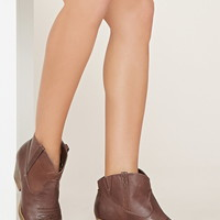 Very Volatile Banjo Booties   Forever 21 - 2000177343