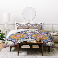 Pimlada Phuapradit Mirror Tiles Duvet Cover