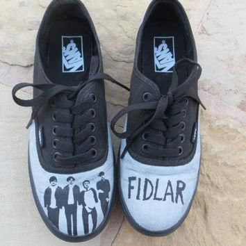 Hand Painted Shoes - Fidlar - Vans Not Included