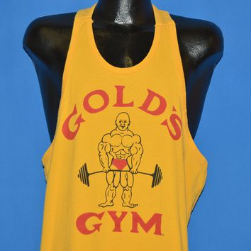 90s Gold's Gym Weight Lifting Tank Top t-shirt Large