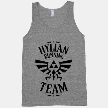 Hylian Running Team  American Apparel Athletic by ActivateApparel