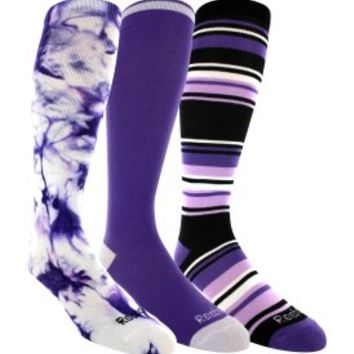 Reebok Tie Dye Team Sock 3 Pack - Dick's Sporting Goods