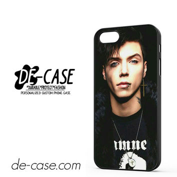 Andy Biersack Black Veil Brides Vocalist DEAL-766 Apple Phonecase Cover For Iphone 5 / Iphone 5S