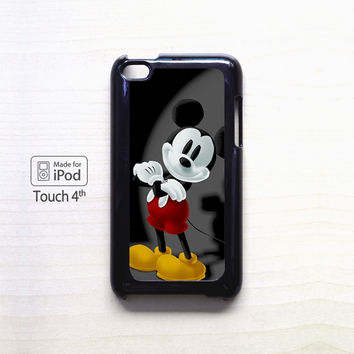 Mickey Mouse Wallpaper for Ipod 4/Ipod 5 apple case