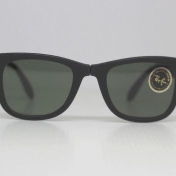 Ray Ban Wayfarer Folding by Bausch Lomb rare New vintage Sunglasses 80s B&L