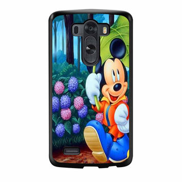 Mickey And Minnie Mouse Romantic 1 LG G3 Case