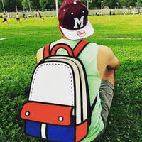 Summer 16 Cartoon Backpack