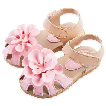 Choice of Baby Girls Flower Summer Sandals