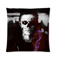 "American Horror Story Tate Langdon Normal People Scare Me 18"" x 18"" pillow case"