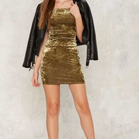 After Party by Nasty Gal Crushing Hard Velvet Dress