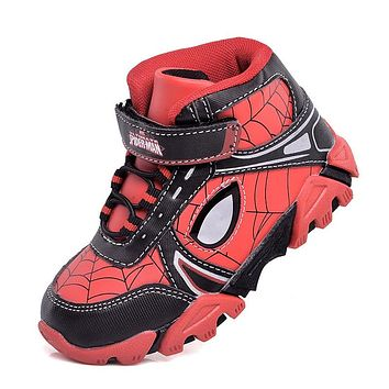 Spider-Man Casual lights flash LED Sneaker