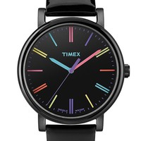 Women's Timex 'Easy Reader' Multi Color Marker Watch, 38mm