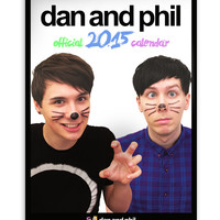 Official Dan and Phil 2015 Calendar