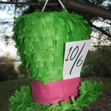 Pinata  Mad Hatter Top Hat by PinataQueen on Etsy