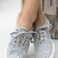 Tribal Grey Keds