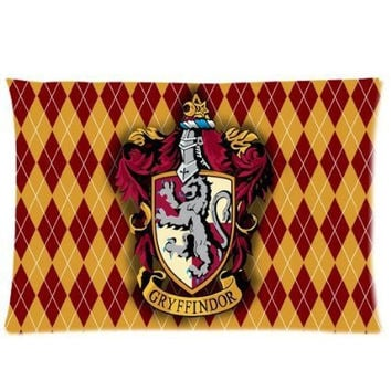 Customized Harry Potter Gryffindor Pillow cases 50x75 CM Pillow Cover Best Bed Sheets