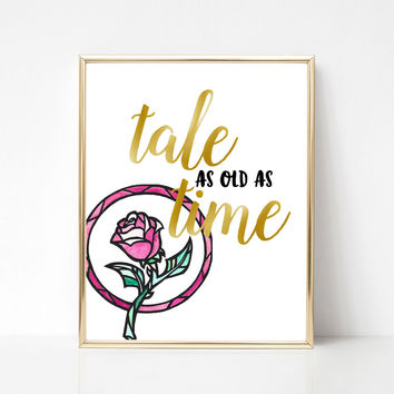 Tale as Old as Time Print