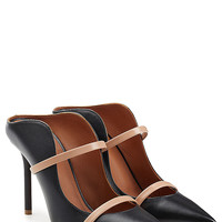 Malone Souliers - Leather Double Strap Mules