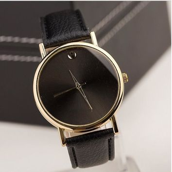 New Minimalist Geneva Watch MEN DOT Business wristwatch MAN elegant watch Fashion Watch Women