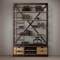1950s Dutch Shipyard Shelving