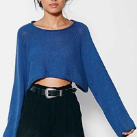Silence + Noise Sam Cropped Sweater-