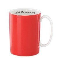 say the word paint the town red mug - kate spade new york