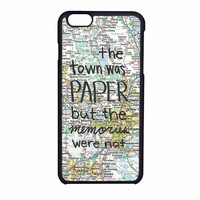 John Green Paper Towns Quote iPhone 6 Case