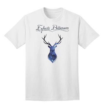 Expecto Patronum Space Stag Adult T-Shirt