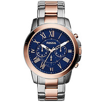 Fossil Men's Grant Two-Tone Chronograph Watch