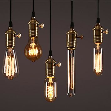 Dimmable Retro Edison Light Bulb In Various Shapes & Lengths