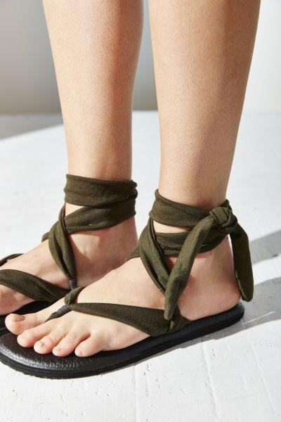 b8646cf99f77 Sanuk Yoga Slinged Up Sandal from Urban Outfitters