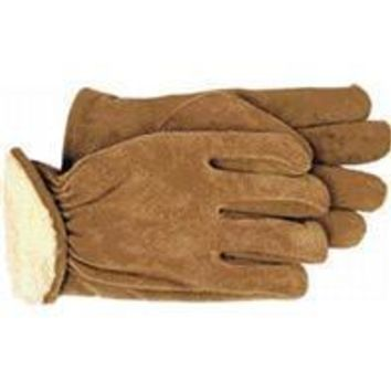 Boss Manufacturing     P - Men's Pile-insulated Split Leather Driver Glove