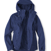 Fleece-Lined Trail Model Rain Jacket: Rain Jackets | Free Shipping at L.L.Bean