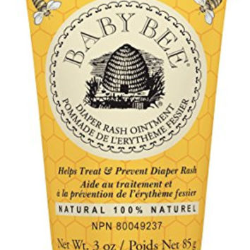 Burt's Bees Baby Bee 100% Natural Diaper Rash Ointment, 3 Ounce