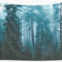 'Hard roads ahead' Wall Tapestry by happymelvins