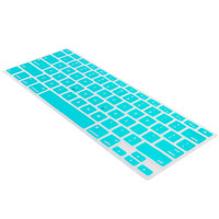 For Macbook Pro Air 11 13 15 Keyboard Silicone Skin Cover Protector Tiffany Blue