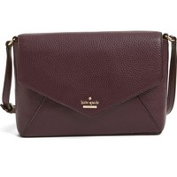 kate spade new york 'spencer court - large monday' leather envelope crossbody bag (Nordstrom Exclusive) | Nordstrom
