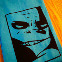 Russel Gorillaz Inspired Screenprinted TShirt by mosaicshirts